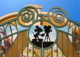 Parkeren bij Disney