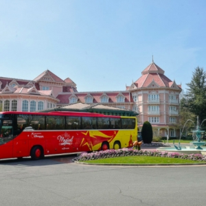 Shuttleservice Disneyland Parijs en luchthaven